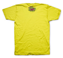 Shatner 'Covered in Punk' T-Shirt (Yellow)