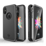 Kylin series iPhone X case(Gray/Black)