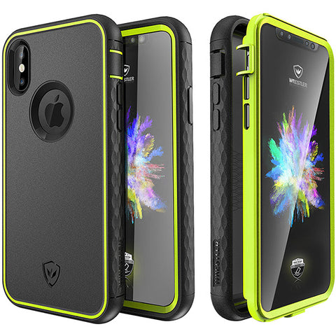 Kylin series iPhone X case (Yellow/Black)