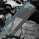 Kylin series iPhone X case(clear/Blue)