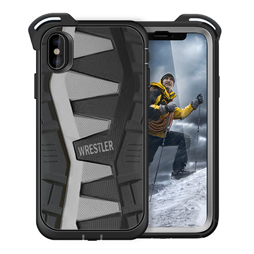 iphone x case with screen protector