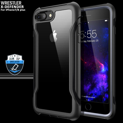 X-defender series iPhone 7/8 Plus (Black)