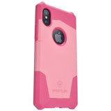 Knight series iPhone X  (Coral Pink/Rose Pink)