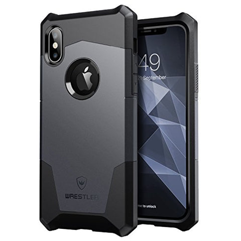 Knight series iPhone X  (Jet Black/Space Gray)