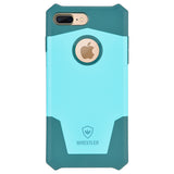 Knight series iPhone 7 Plus (Aqua Mint/Mountain Green)