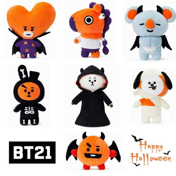 BT21 Halloween Plushies Merchyes