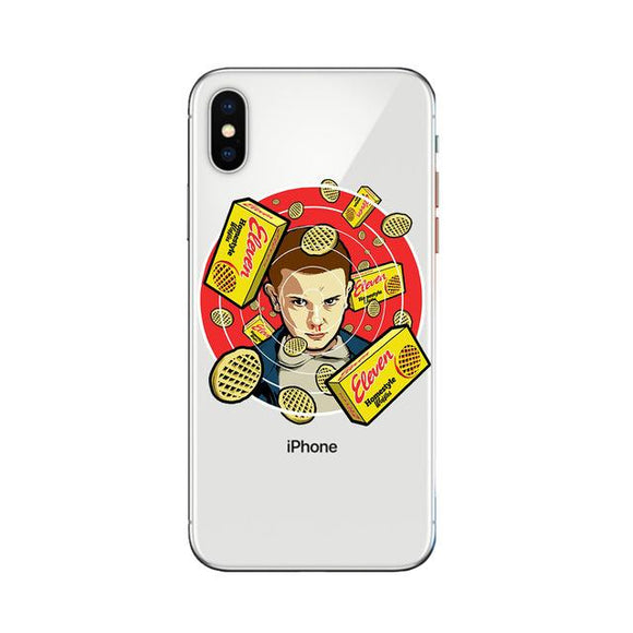 Eleven Eggo iPhone Case iPhone Case Merchyes For iPhone XR