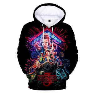 Stranger Things 3D Hoodie Merchyes