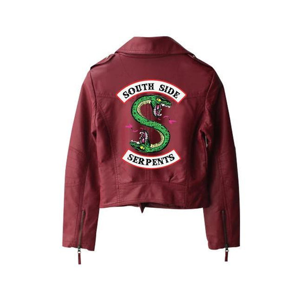 Riverdale Cheryl Blossom's Southside Serpent Jacket Jacket Merchyes X Small