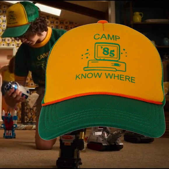 Stranger Things 3 Hat Camp Know Where Hat Merchyes