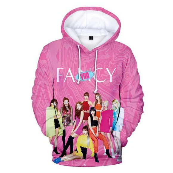 TWICE Fancy You 3D Hoodie Merchyes