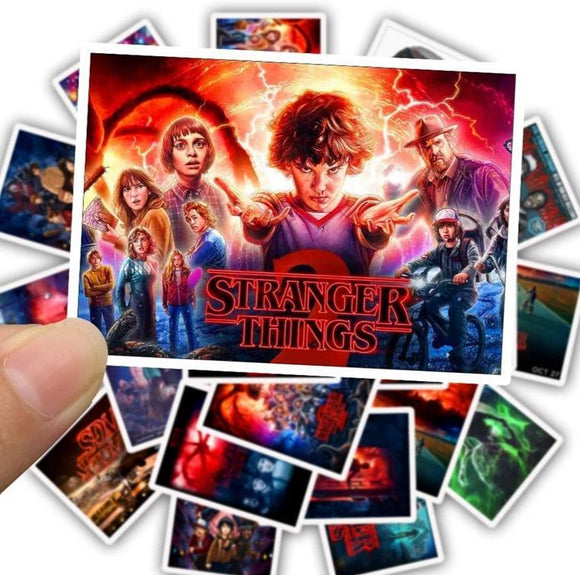 50 Stranger Things Stickers Stickers Merchyes Sticker pack [1]