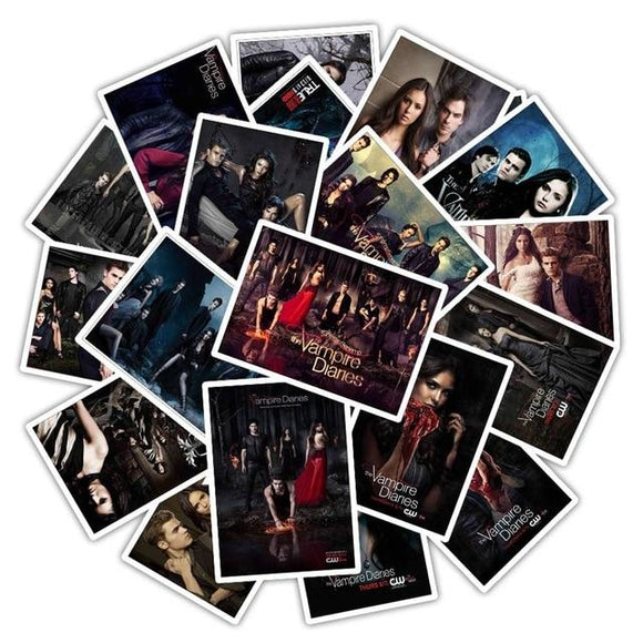 Vampire Diaries Stickers Stickers Merchyes Default Title
