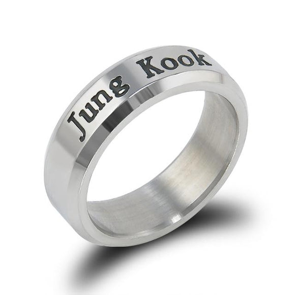BTS Bias Rings Ring Merchyes Jungkook
