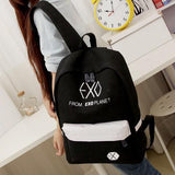FROM EXO PLANET Backpacks (2 Colors) Backpack Merchyes Black