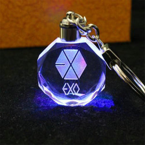EXO Light Up Keychain Merchyes