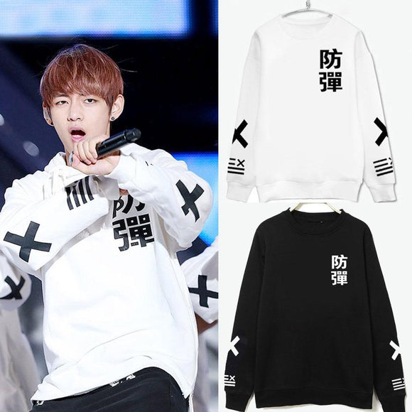 BTS Bulletproof Sweater