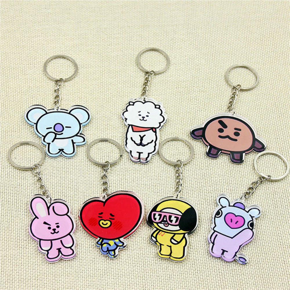 BT21 Key Chains Merchyes