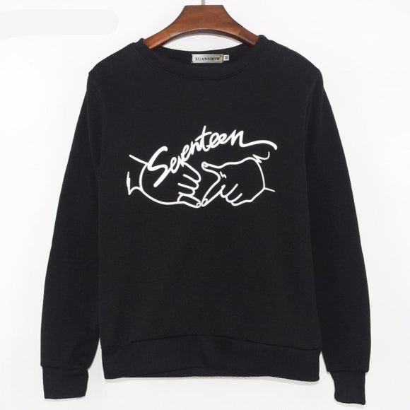 SEVENTEEN 17 Sweatshirt (3 Colors)