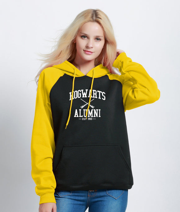 Hogwarts Alumni Multi-Colored Hoodie