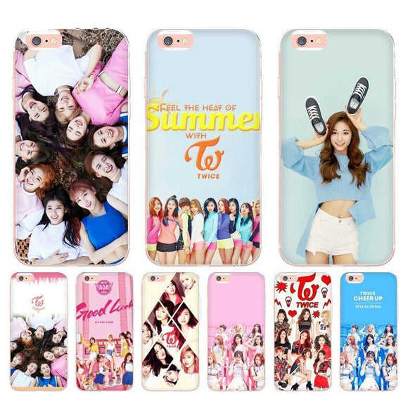 K-Pop TWICE Cute iPhone Cases