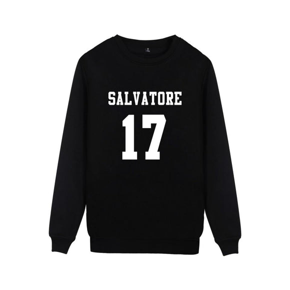 Vampire Diaries Salvatore 17 Sweater Merchyes
