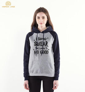 I Solemnly Swear That I Am Up To No Good Harry Potter Hoodies Merchyes