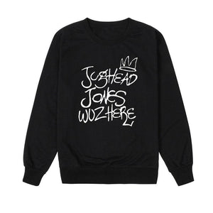 Jughead Jonez Wuz Here Sweater