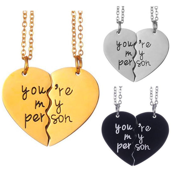 You're My Person BFF Necklace Necklace Merchÿes