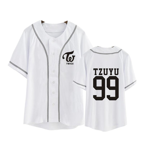 TWICE Button T-Shirt