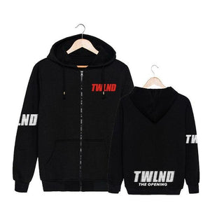 TWICELAND Zip-Up Hoodies Zip-Up Hoodie Merchyes