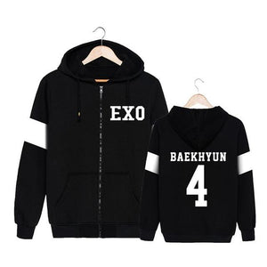 EXO We Are One Zip-Up Hoodies Merchyes