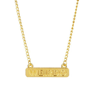 Riverdale Weirdo Necklace Necklace Merchyes