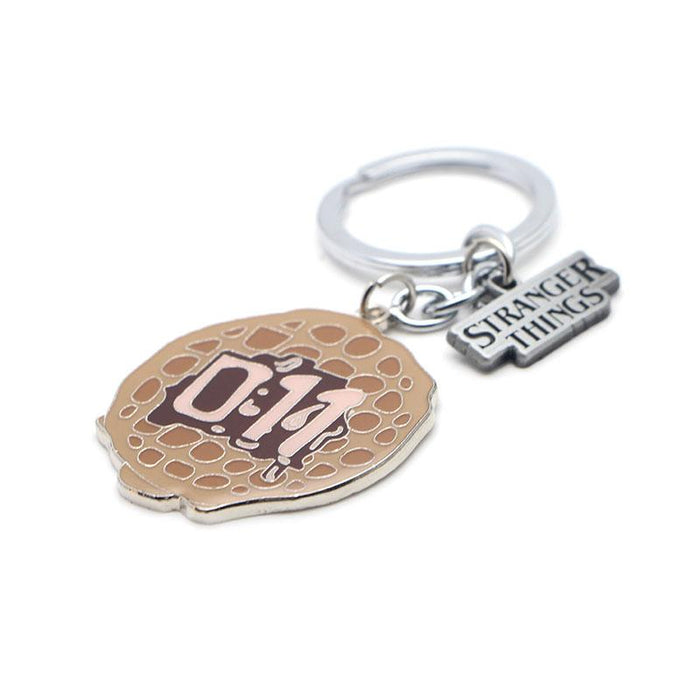 Stranger Things Eggo Keychain