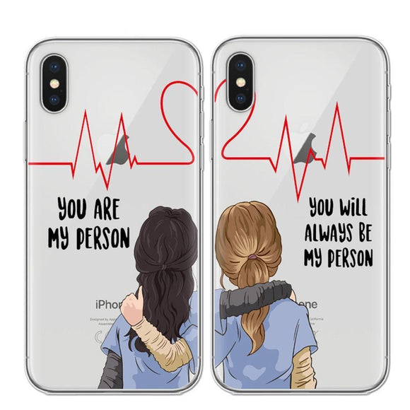 Grey's Anatomy Friendship Cases iPhone Case Merchyes