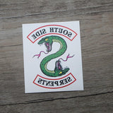 Southside Serpents Temporary Tattoo Merchyes