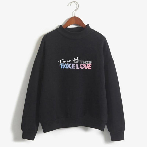 BTS I'm So Sick Of This Fake Love Sweatshirt