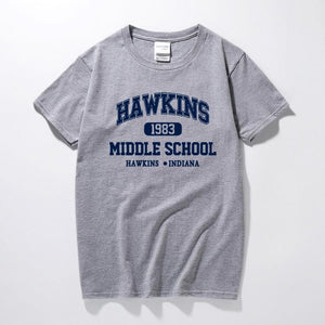 Stranger Things Hawkins Middle School Shirt Merchyes