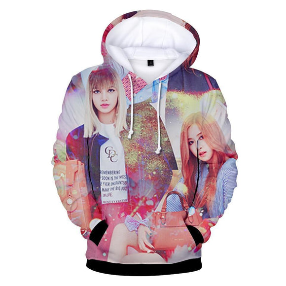BLACKPINK 3D Hoodies Merchyes