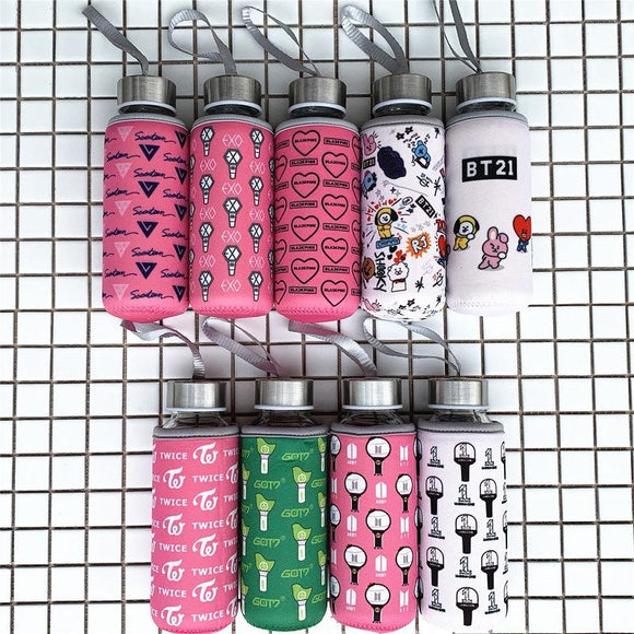 KPOP Water Bottles