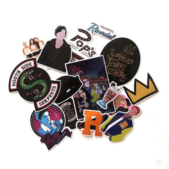 Riverdale 15 Piece Sticker Pack Merchyes