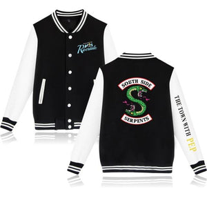 Welcome To Riverdale Jacket Jacket Merchyes Black XXS