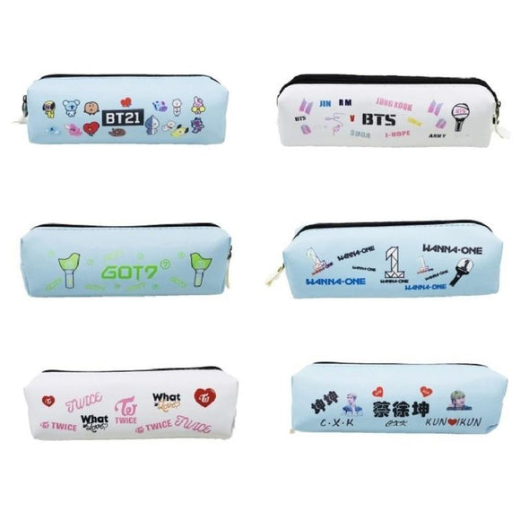 KPOP Stationary Pencil Cases
