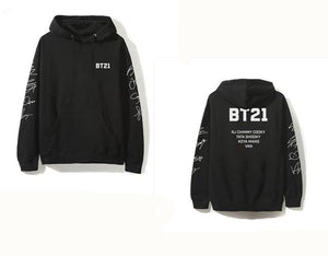 BT21 x BTS Hoodies (LIMITED EDITION) Hoodie Merchyes