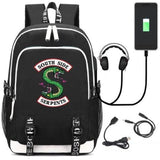 Riverdale Southside Serpents Handy Backpack Backpack Merchyes