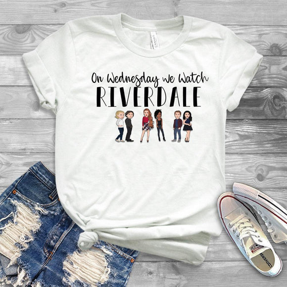 On Wednesday We Watch Riverdale T-Shirt Merchyes