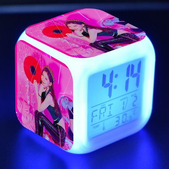 ITZY LED Alarm Clock