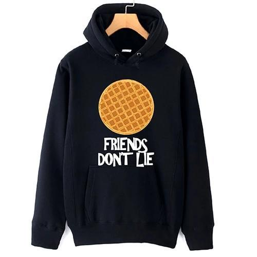 Friends Don't Lie Hoodie Hoodie Merchyes Black Medium