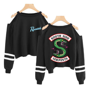 Riverdale Cropped Hoodie Merchyes