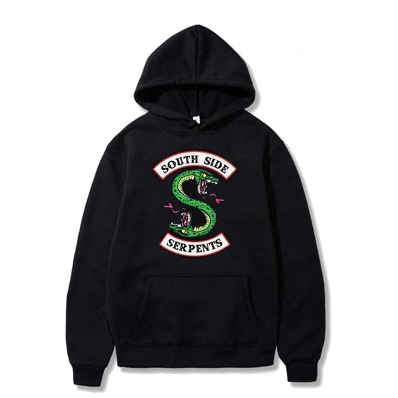 Riverdale Southside Serpents Hoodie Hoodie Merchyes Black XXXX-Large